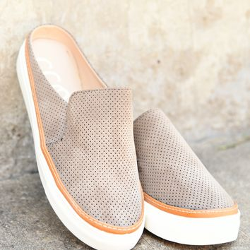Audra Slip-On Sneaker - Taupe