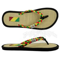 Bob Marley Natty Rasta Natural Sandals - Women's @ Rastampire.com