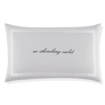 kate spade new york no shrinking violet pillow | Nordstrom