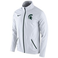 Nike Michigan State Spartans Game On-Court Dri-FIT Jacket