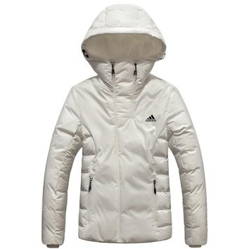 ADIDAS 2018 winter new casual outdoor sports women's down jacket white