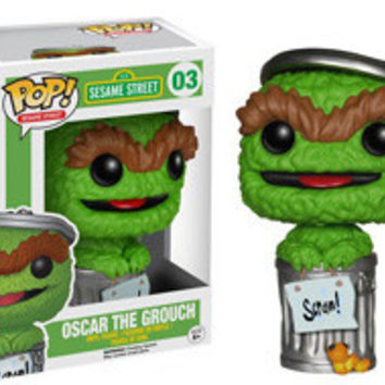 POP! SESAME STREET 03 - OSCAR THE GROUCH