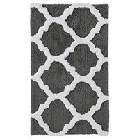 "Threshold™ Frette Bath Rug - Gray (20x34"")"