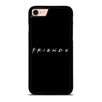 FRIENDS MINIMALISTIC iPhone 8 Case
