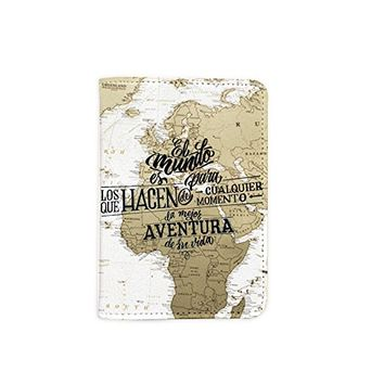 Adventure Leather Passport Holder - Passport Protector - Passport Cover - Passport Wallet_Mishkaa