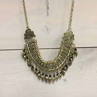 Royal Charm Statement Necklace