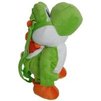 1 X Super Mario Brothers Nintendo Plush Backpack Yoshi