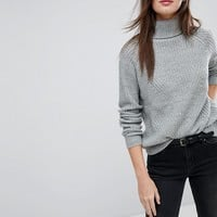 JDY High Neck Knitted Sweater at asos.com