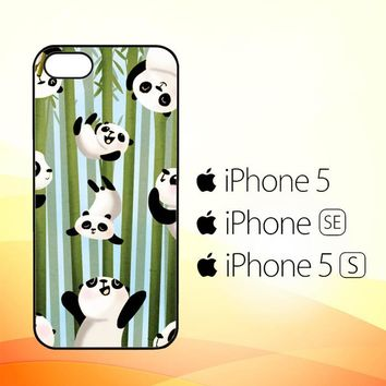 PANDA ART Y1346  iPhone 5|5S|SE Case