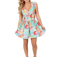 Seasons In The Sun Floral Dress | Monday Dress Boutique