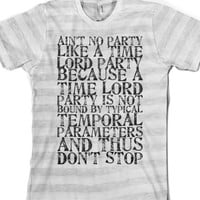 No Party Like A Time Lord Party |