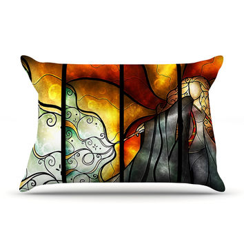 "Mandie Manzano ""Expecto Patronum"" Harry Potter Pillow Case"