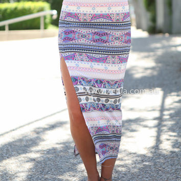 Constellation 2.0 Maxi Skirt