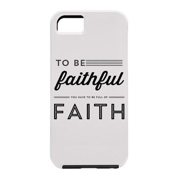 Allyson Johnson Full Of Faith Cell Phone Case