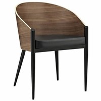 Cooper Dining Armchair Walnut