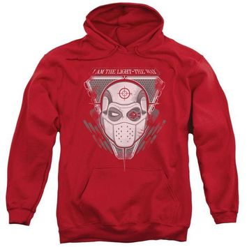 ac spbest Suicide Squad - I Am The Way Adult Pull Over Hoodie