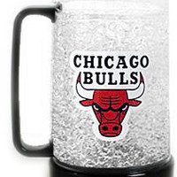 Chicago Bulls Crystal Freezer Mug