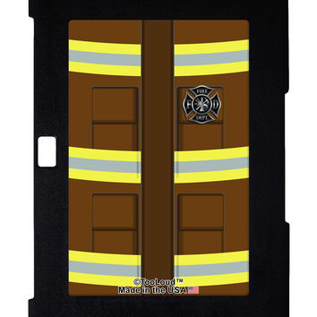 Firefighter Brown AOP Galaxy Note 10.1 Case All Over Print