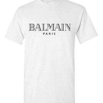 Balmain Paris White T-Shirt