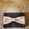 Messenger Bag with Ribbon