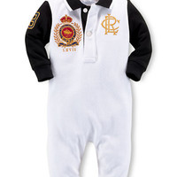 Ralph Lauren Childrenswear Baby Boys Polo Coverall