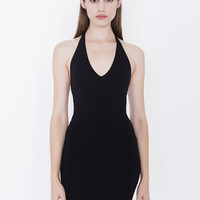 Cotton Spandex Halter Dress | American Apparel