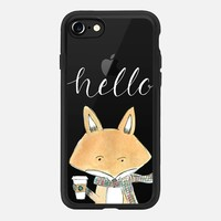iPhone 7 Case (Jet Black), Basic Fox by Fox & Floral Design | Casetify (iPhone 6s 6 Plus SE 5s 5c & more)