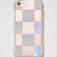 Recover Check Me Out Metallic iPhone 6/7 Case | Urban Outfitters
