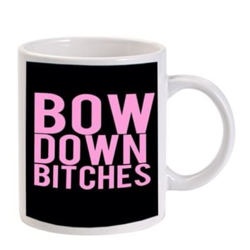 Gift Mugs | Beyonce Flawless Ceramic Coffee Mugs
