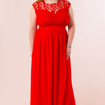 WEB EXCLUSIVE: Stand By You Plus Size Dress