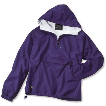 Personalized purple  Lined Jacket