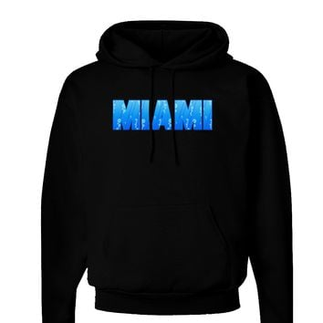 Miami Ocean Bubbles Dark Hoodie Sweatshirt by TooLoud
