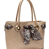 Leopard Scarf Tote MORE COLORS