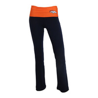 Denver Broncos Sublime Fold Over Yoga Pants