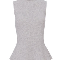 Veronica Beard Billie Sleeveless Peplum Sweater - INTERMIX®