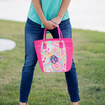 Drink In My Hand - Paisley Cooler Tote | Driftwood Market