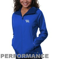 Columbia Kentucky Wildcats Ladies Surefire Softshell Performance Jacket - Royal Blue