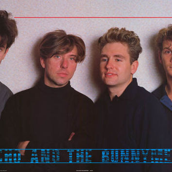 Echo and The Bunnymen Band Poster 24x35