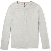 PRODUCT - Nudie Jeans - Fairtrade Organic Cotton-Jersey Henley T-Shirt - 406167 | MR PORTER