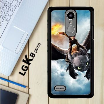 Toothless How To Train Your Dragon Y0782 LG K8 2017 / LG Aristo / LG Risio 2 / LG Fortune / LG Phoenix 3 Case