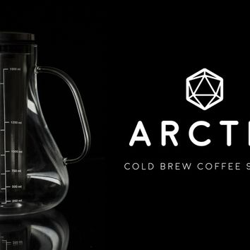 You deserve better coffee. Make it now with the Arctic.