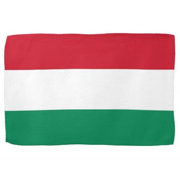 Kitchen towel with Flag of Hungary