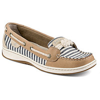 Sperry Top-Sider Cherubfish Mariner Striped Boat Shoes - Charcoal