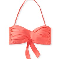 LLD Solid Twist Bandeau Top