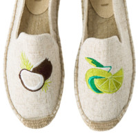 Hemp Espadrilles Lime Coconut