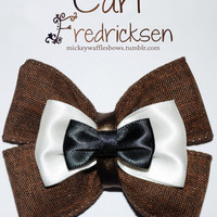 Carl Fredricksen Hair Bow by MickeyWaffles on Etsy