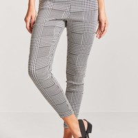 Glen Plaid Ponte Pants