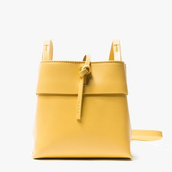 Kara / Nano Tie Crossbody in Gold
