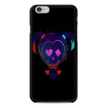 Harley Quinn Suicide Squad On Black iPhone 6/6S Case