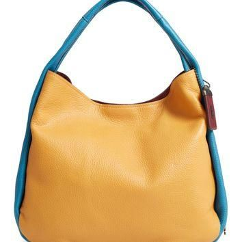 COACH 1941 Colorblock Bandit Leather Hobo Bag | Nordstrom
